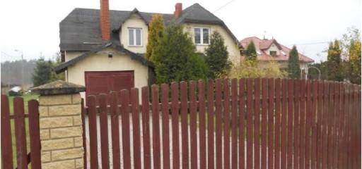 Dom na działce 1200 mkw + działki drogowe, Łbiska