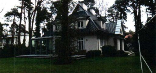 Dom 497,64mkw na działce 1647mkw, Konstancin-Jeziorna