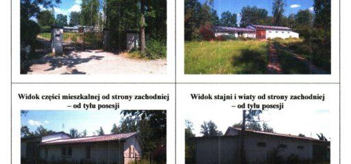 Nieruchomość 1000mkw zabudowana budynkiem stajni, Henryków-Urocze