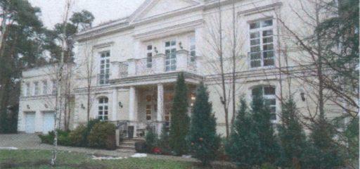Rezydencja 530,10mkw na działce 2107mkw, Konstancin-Jeziorna