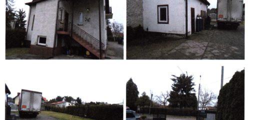 Działka 977mkw zabudowana domem p.u.132mkw i bud.gospodarczym, Góra Kalwaria